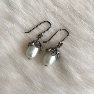 Jewelry - Pearl and Silver Earrings